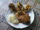 Pečené brambory se slaninou recept