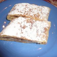 Křehký jablečný závin recept