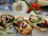 Lilek s rajčaty a česnekem recept