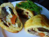 Zeleninová roláda z vaječného těsta recept