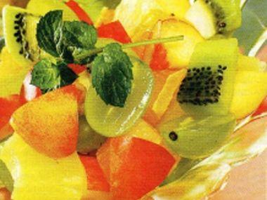Ovocný pohár