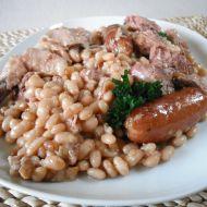 Pečené fazole po francouzsku recept