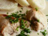 Kuřecí prsa v jemné smetanové omáčce recept