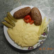 Válečky z mletého masa se sýrem recept