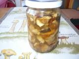 Uchování hub recept