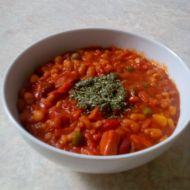 Jednoduchá mexická fazolová polévka recept
