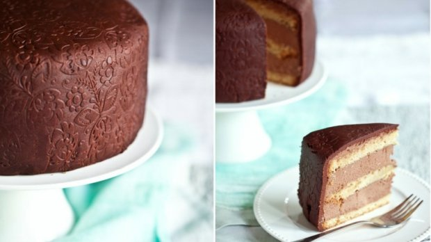 Čokoládový dort Folk