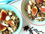 Skořicová quinoa kaše s fíky recept