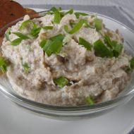Tvarohovo-česneková pomazánka s makrelou recept
