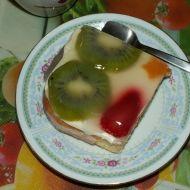 Piškotový dort s kiwi a mandarinkami recept