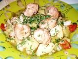 Masové kuličky na zelenině recept