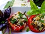 Rajčata plněná hříbky a cibulkou recept