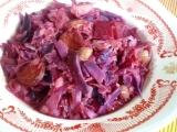 Eintopf z červeného zelí recept