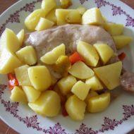 Kuřecí stehna na šalvěji recept
