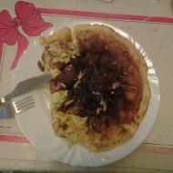 Vaječná omeleta s překvapením recept