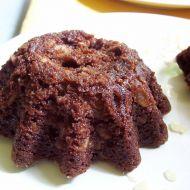 Čokoládové bábovičky s mandlemi recept