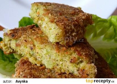 Brokolicové karbanátky se lněným semínkem recept