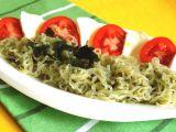 Zeleninové těstoviny Caprese recept