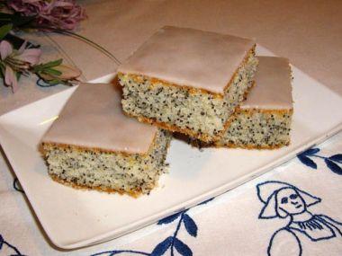 Lehký makový koláč
