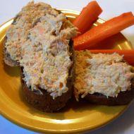 Zdravá celerová pomazánka ala humr recept