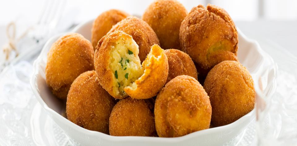 Domácí bramborové krokety