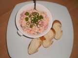 Krabí barevný' salátek recept