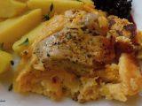 Pipi kousky v nadýchané sýrové omeletě recept