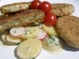 Zelené rybí placičky recept