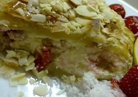 Lehký tvarohový závin s letním ovocem recept