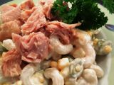 Těstovinovo – tuňákový salát recept