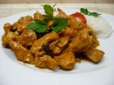 Marinované kuřecí na houbách recept