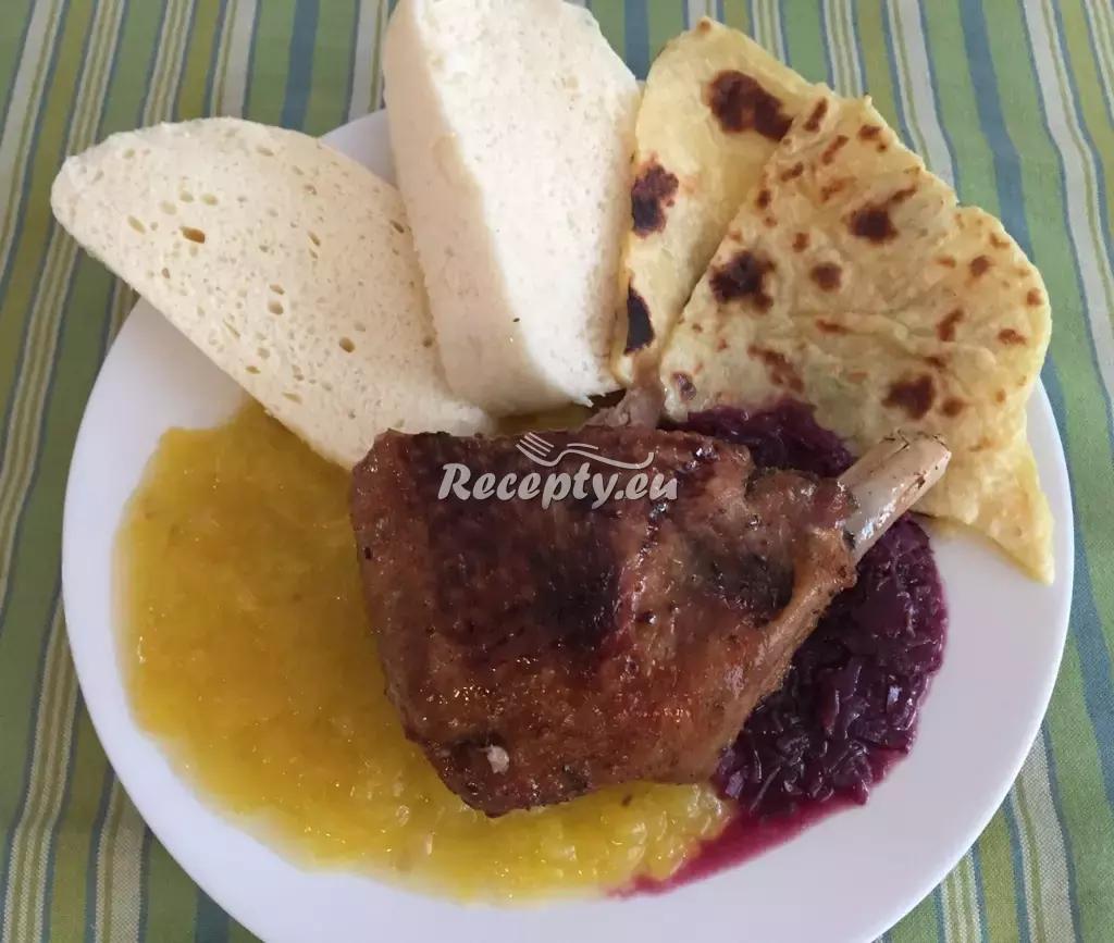 Husa na medu recept  drůbeží maso