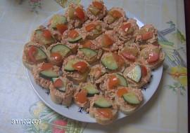 Rumcajs  pikantní pomazánka recept