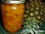 Dýně jako ananas recept