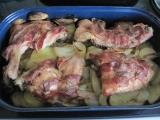 Kuřecí stehna s anglickou slaninou recept