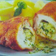 Kuřecí kapsa plněná bylinkami recept