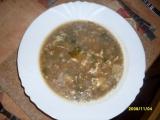 Růžičková polévka s klobásou recept