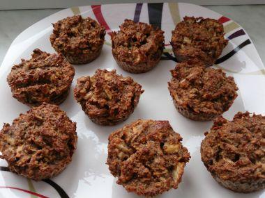 Jablečné muffiny (bez cukru a mouky)