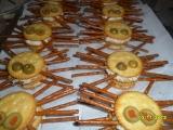 Pavouci  slané pohoštění nejen na Halloween recept