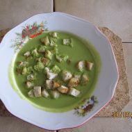 Nadýchaná hrášková polévka recept