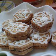 Slepované mandlové cukroví recept