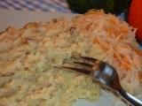 Škvarkové brambory recept
