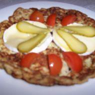 Pivní omeleta se sýrem recept