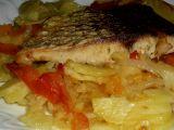 Radostínský kapr se zeleninou a bramborami recept
