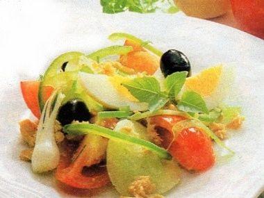 Večeře 15  Salát niçoise