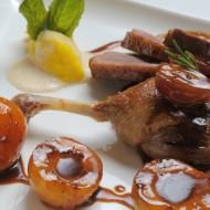 Medová kachna na hruškách recept