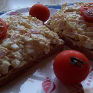 Vajíčkovo-šunková pomazánka recept