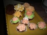 Zdobené muffiny recept