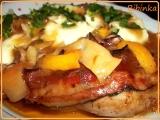 Pečené kuře na adžice s broskví recept