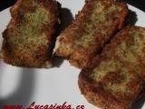 Sýr v parmezánovo-bylinkové strouhance recept